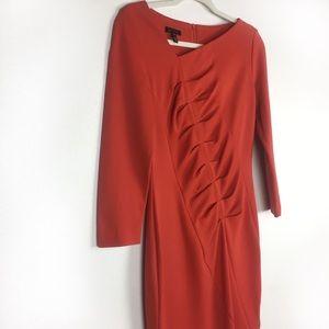 ESCADA Dinah Jersey Sheath Dress Koi 36